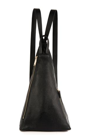 Jil Sander 3-Angle Leather Backpack