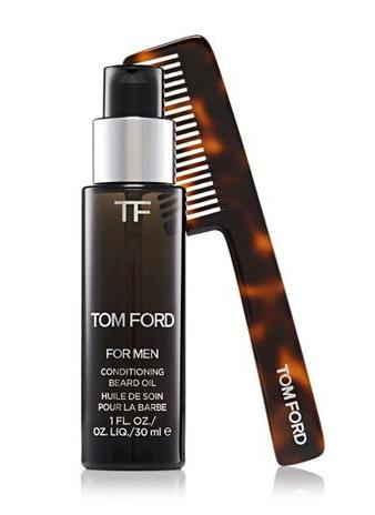 Tom Ford Launches Beard Oil and Comb