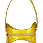 Maison Martin Margiela Convertible Metallic Python Shoulder Bag