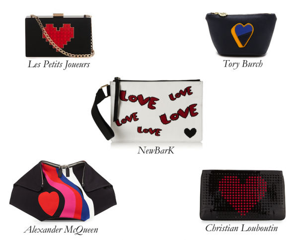 Top 5 Bags with Heart