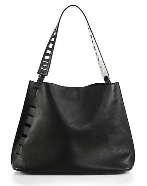 Vince Cutout Medium Hobo Bag