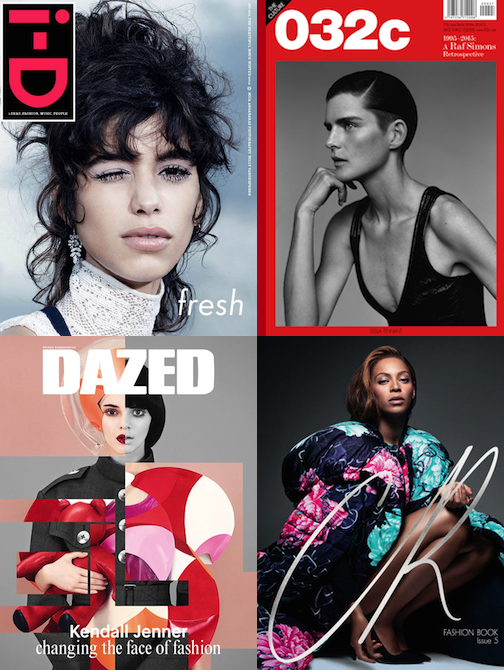 Independent Fashion Magazines
