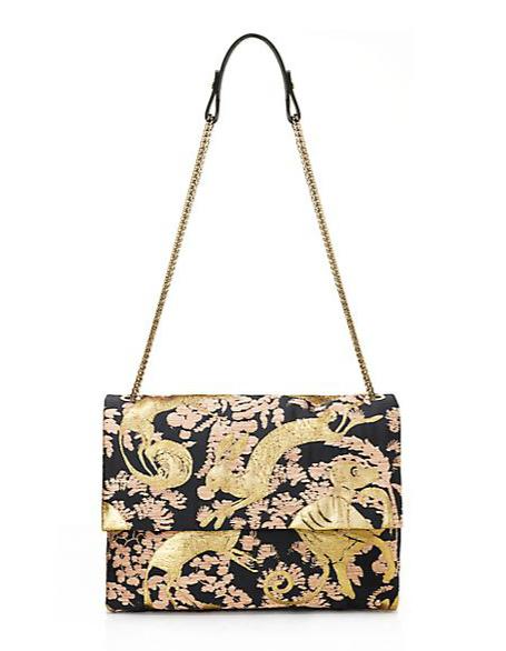 Lanvin Sugar Medium Brocade Shoulder Bag