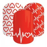 Jamberry Nails Heart Health Awareness Nail Wraps