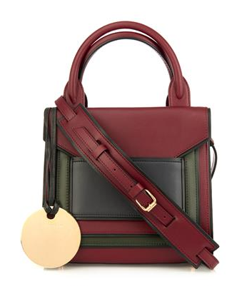 Pierre Hardy Bi-Color Leather Crossbody Bag