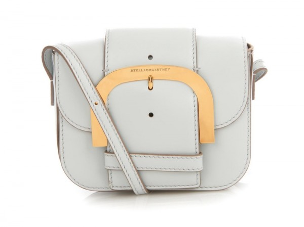 Stella McCartney Ciel Buckle Faux-Leather Crossbody Bag