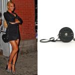 Beyoncé Wears Jack Germain Bow Bag