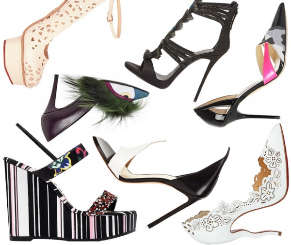 Top 7 Wearable Art Heels