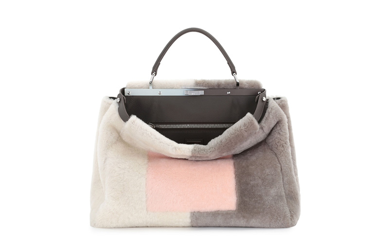 Fendi_Shearling_Fur_Tote_Tricolor