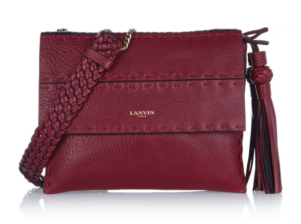 Lanvin Sugar Mini Textured-Leather Shoulder Bag