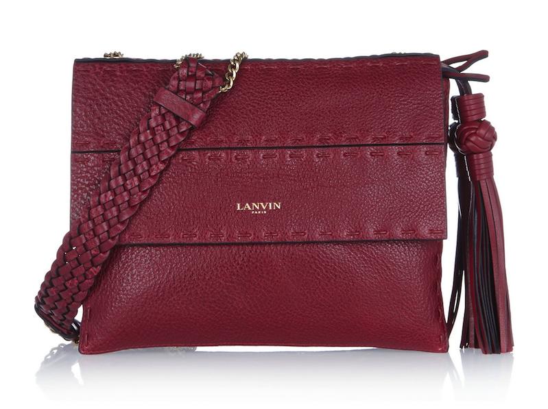 Lanvin Sugar Mini Textured-Leather Shoulder Bag