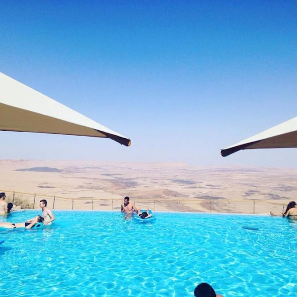 A Luxury Pool and Spa in the Middle of the Desert