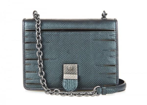 Bottega Veneta Snakeskin Shoulder Bag