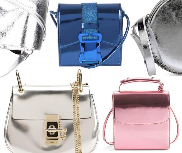 Top 5 Metallic Mirror Bags