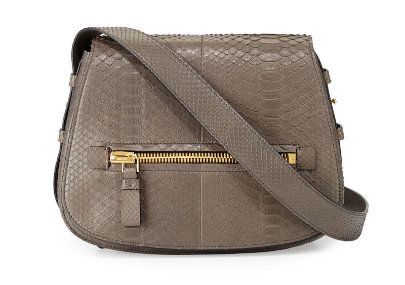 Tom Ford Jennifer Medium Python Shoulder Bag