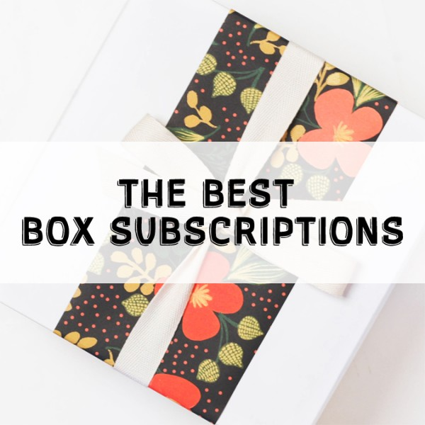 The Best Box Subscriptions