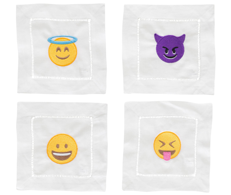 Snob Essentials Emoji Coasters