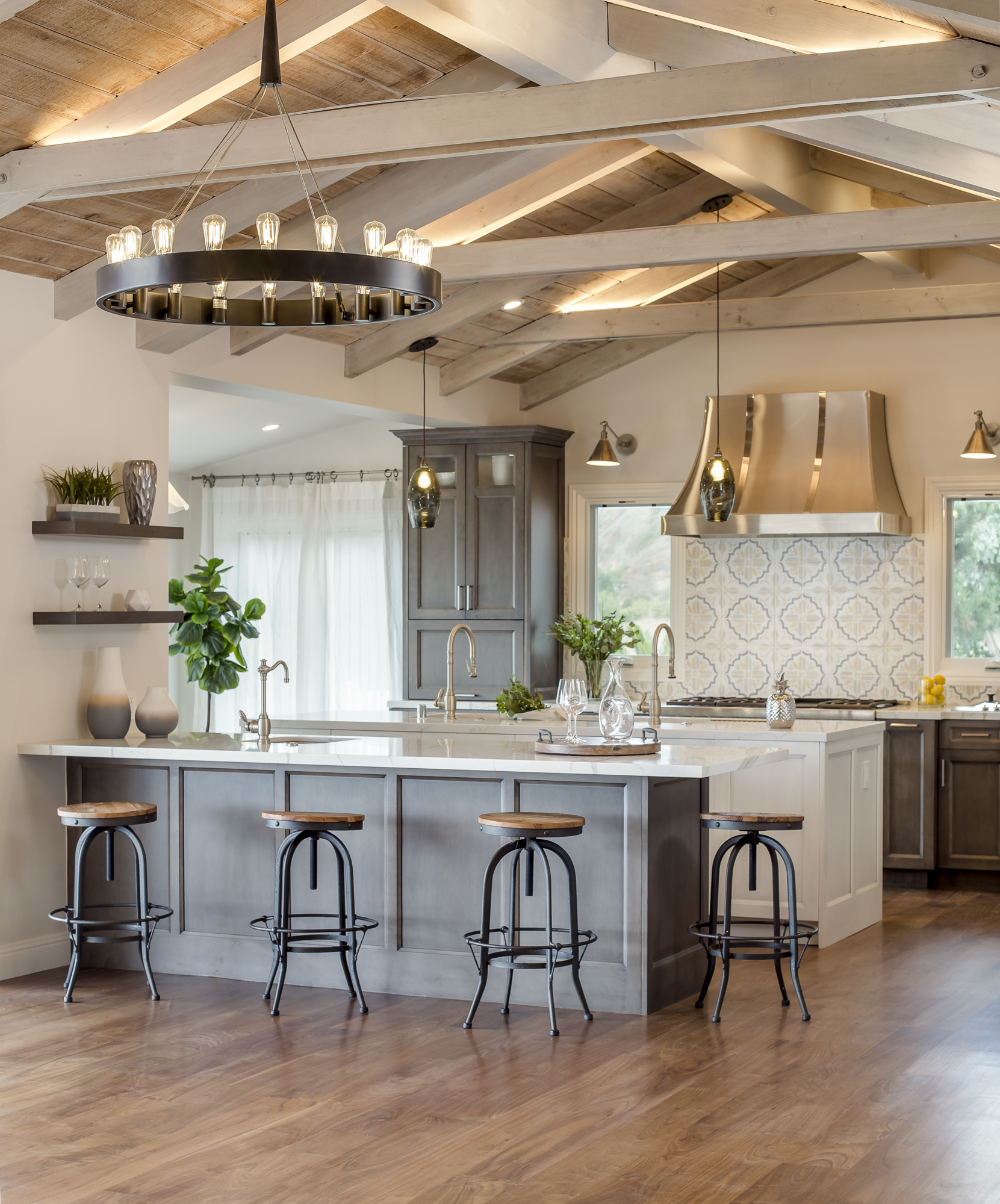 Dream French Country Kitchens