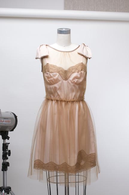 Blue lace dress target