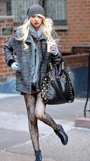 Taylor Momsen in Be&D Garbo - Snob Essentials тейлор момсен