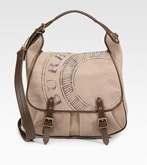 Burberry Medium Canvas Shoulder Bag.jpg