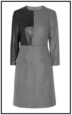 McQ_Leather_Paneled_Wool_Blend_Dress.png