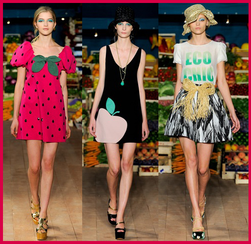 Moschino Cheap and Chic Spring 2012 Collection: Incredible ...