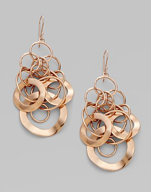 Ippolita Rose Link Chandelier Earrings