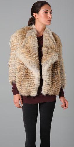 Vince Fur Jacket